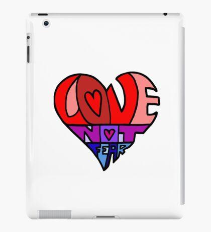 #LoveNotFear iPad Case/Skin