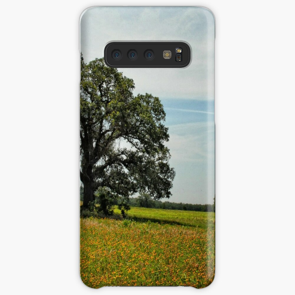 Tree in Field of Gold Case & Skin for Samsung Galaxy