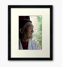 Dr Ho Framed Print