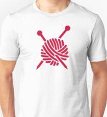 Knitting wool Unisex T-Shirt