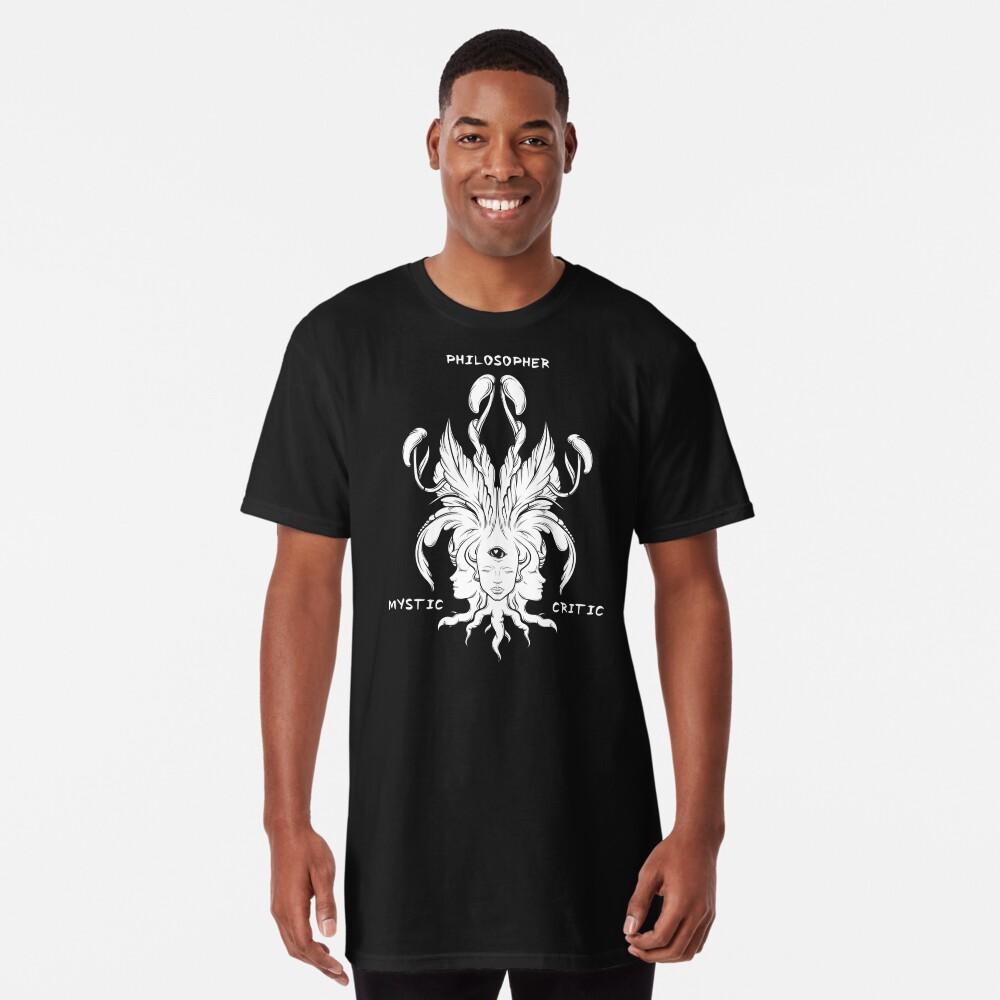 Philosopher/Mystic/Critic Long T-Shirt