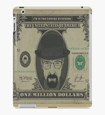 heisenberg dollars iPad Case/Skin