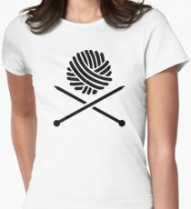 Knitting wool needles T-Shirt