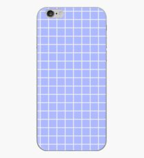 Blue Grid iPhone Case