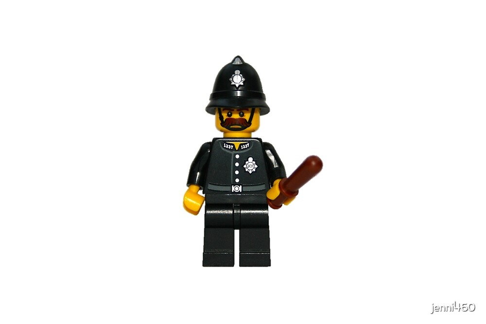 LEGO Police Constable by jenni460