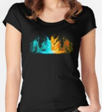 Avatar - Agni Kai Women's Fitted Scoop T-Shirt