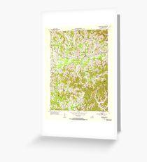USGS TOPO Map Kentucky KY Blackwater 708189 1952 24000 Greeting Card