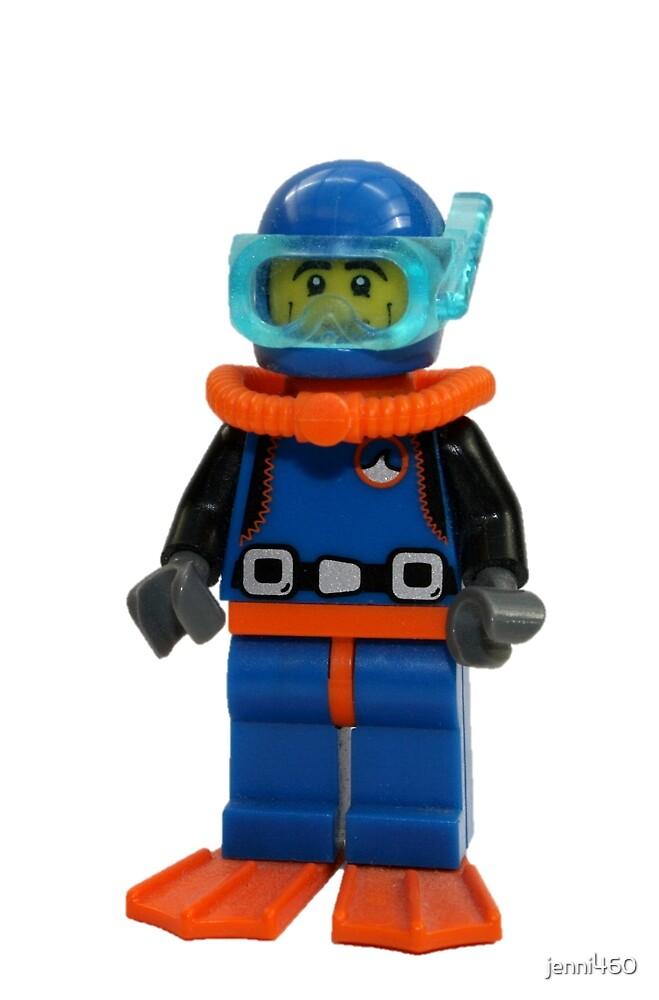 LEGO Diver by jenni460