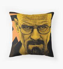 Breaking Half Throw Pillow