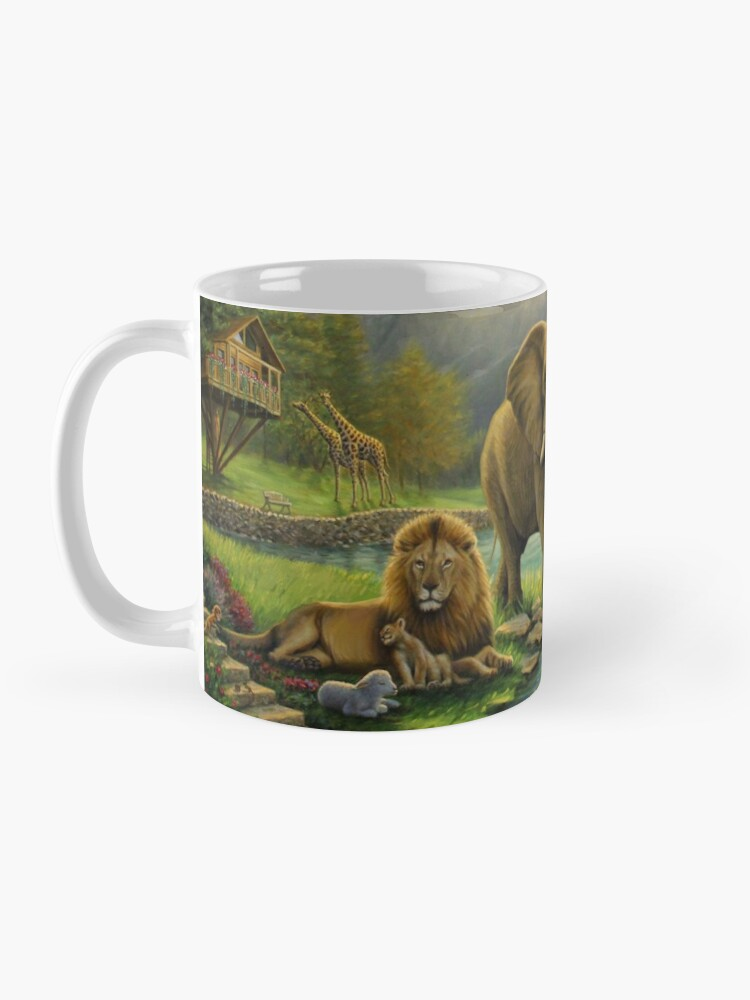 Alternate view of Animals in Paradise Mug