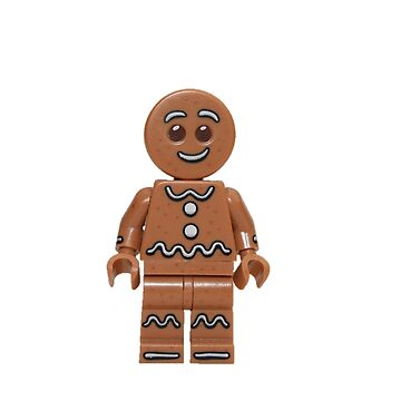 LEGO Gingerbread Man by jenni460