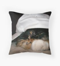 Aaaahhhh she`s a teenager! Throw Pillow