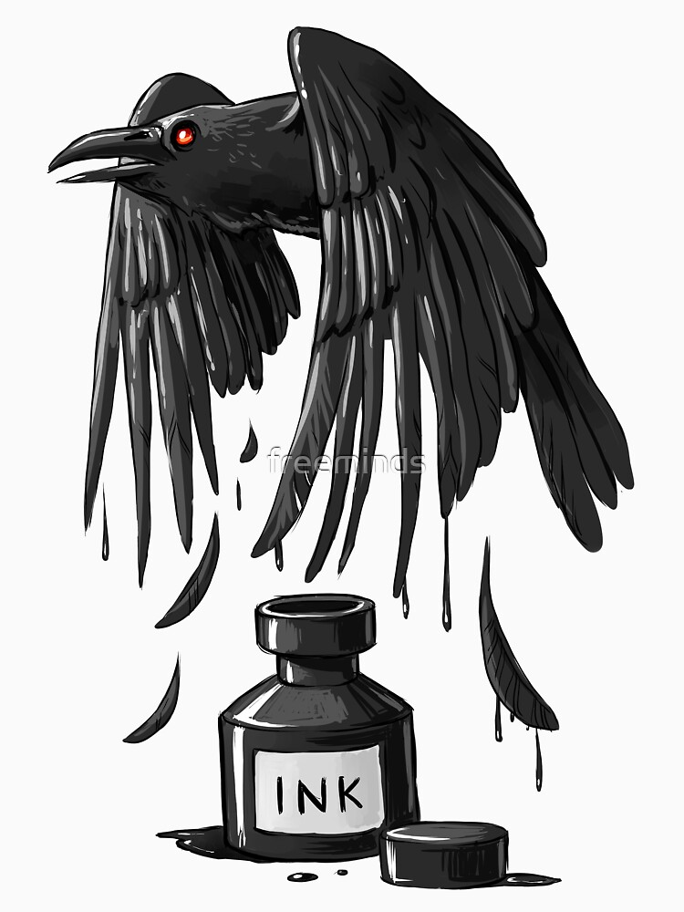 Ink Raven by freeminds