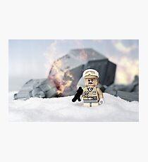 Rebel win Photographic Print