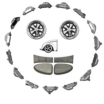 VW Fuch Split Face - (-: by Harrysdesigns