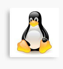 Linux Penguin Canvas Print