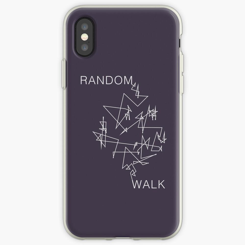 Caminata aleatoria Funda y vinilo para iPhone