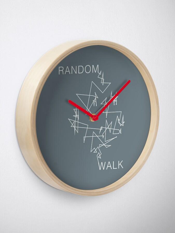 Vista alternativa de Reloj Caminata aleatoria