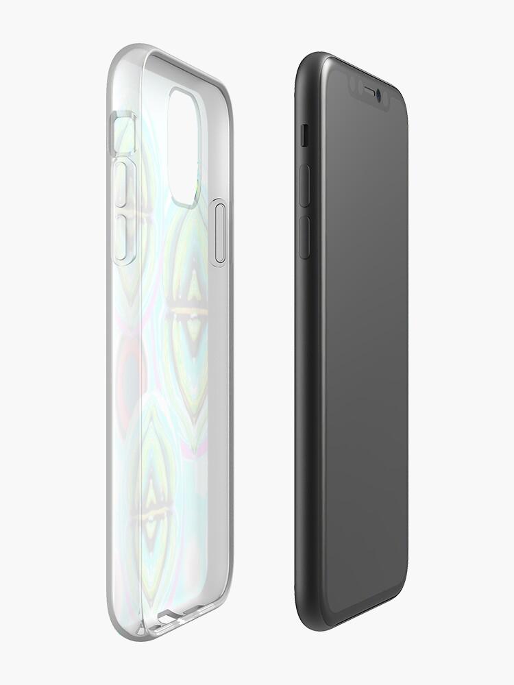 Coque iPhone «Poisson-gelée sous l'eau», par JLHDesign
