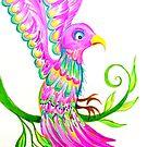 Folk Bird of Paradise by jonkania