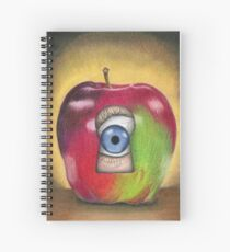 Curiosity killed the apple Spiral Notebook