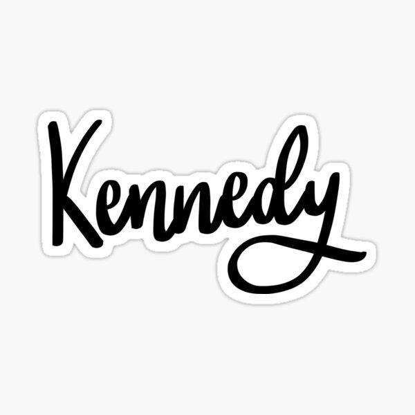 Kennedy  Sticker