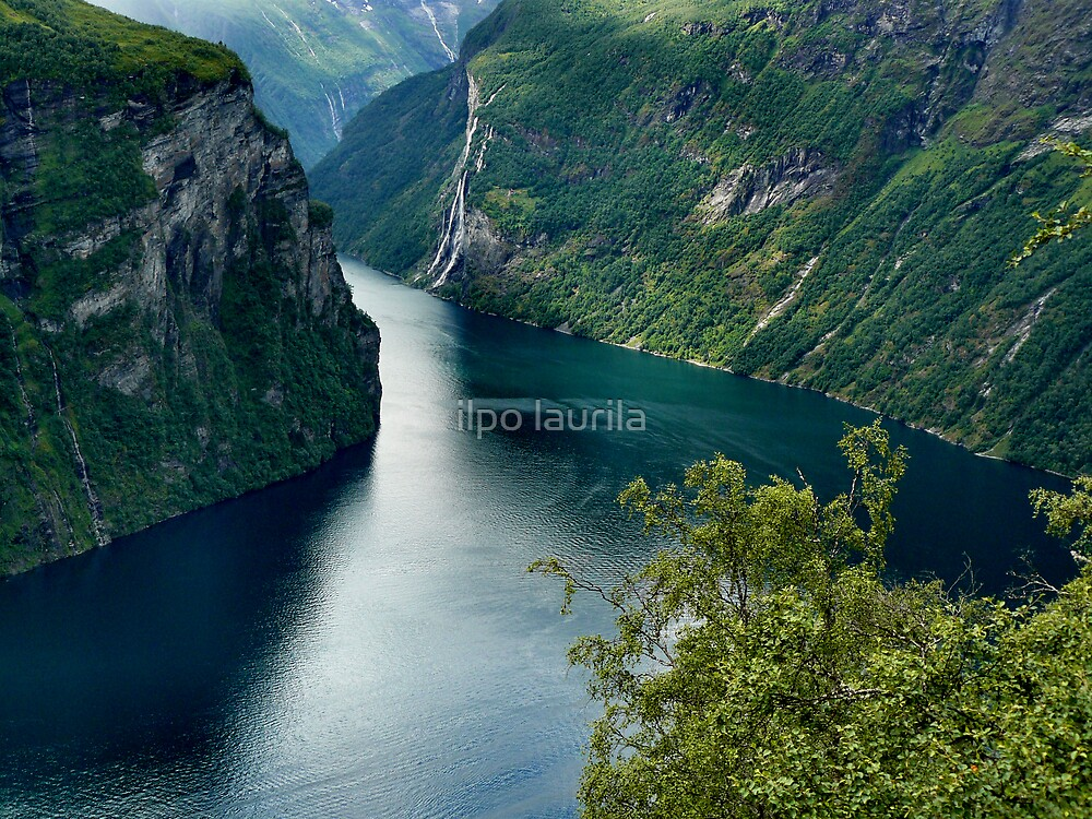 Norway fjord by ilpo laurila