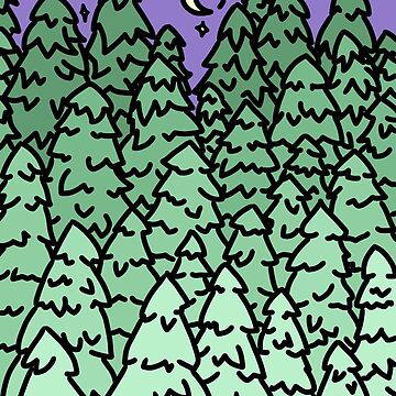 gradient pines by jennieclayton