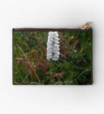 Irish White Orchid, Inishmore Studio Pouch