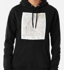 USGS TOPO Map California CA Whittier 20120405 TM geo Hoodie