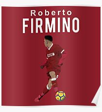 Roberto Firmino - Liverpool Poster