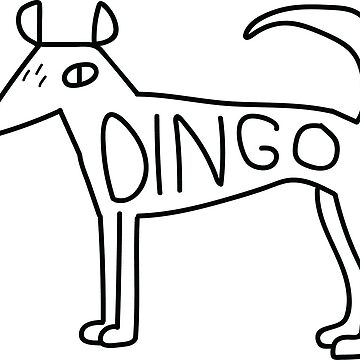 Dingo Dog by strangerandfict