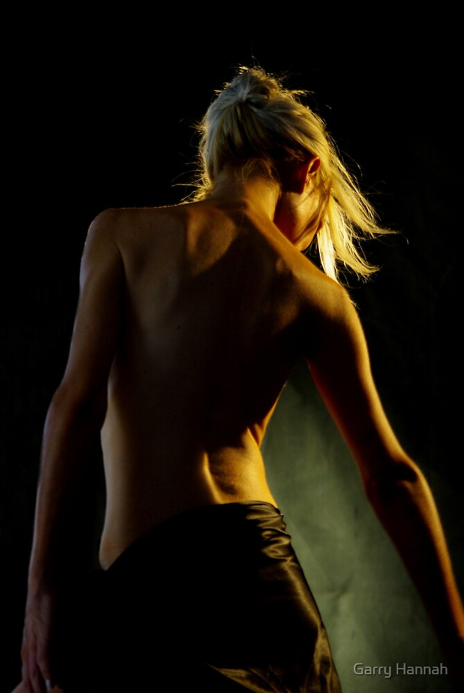 Back of beauty by Garry Hannah