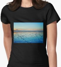 Sunset on the Horizon I Women's Fitted T-Shirt