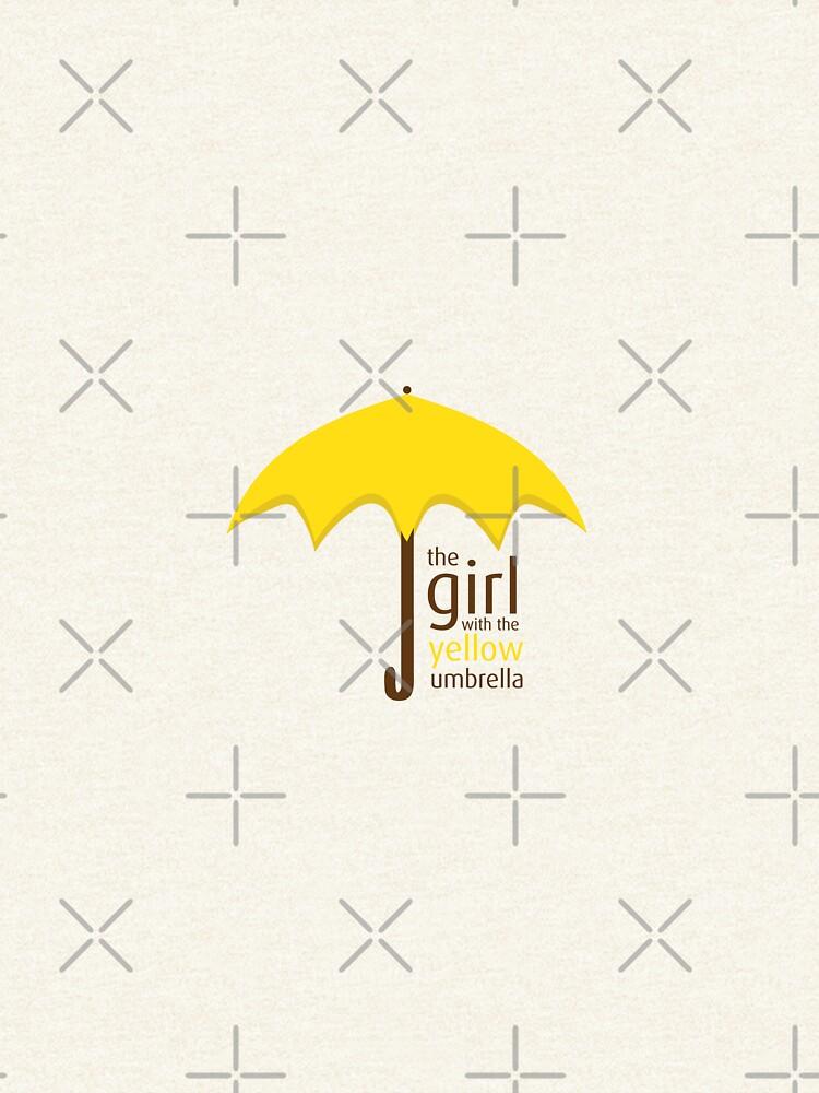 Yellow Umbrella by darrianrebecca