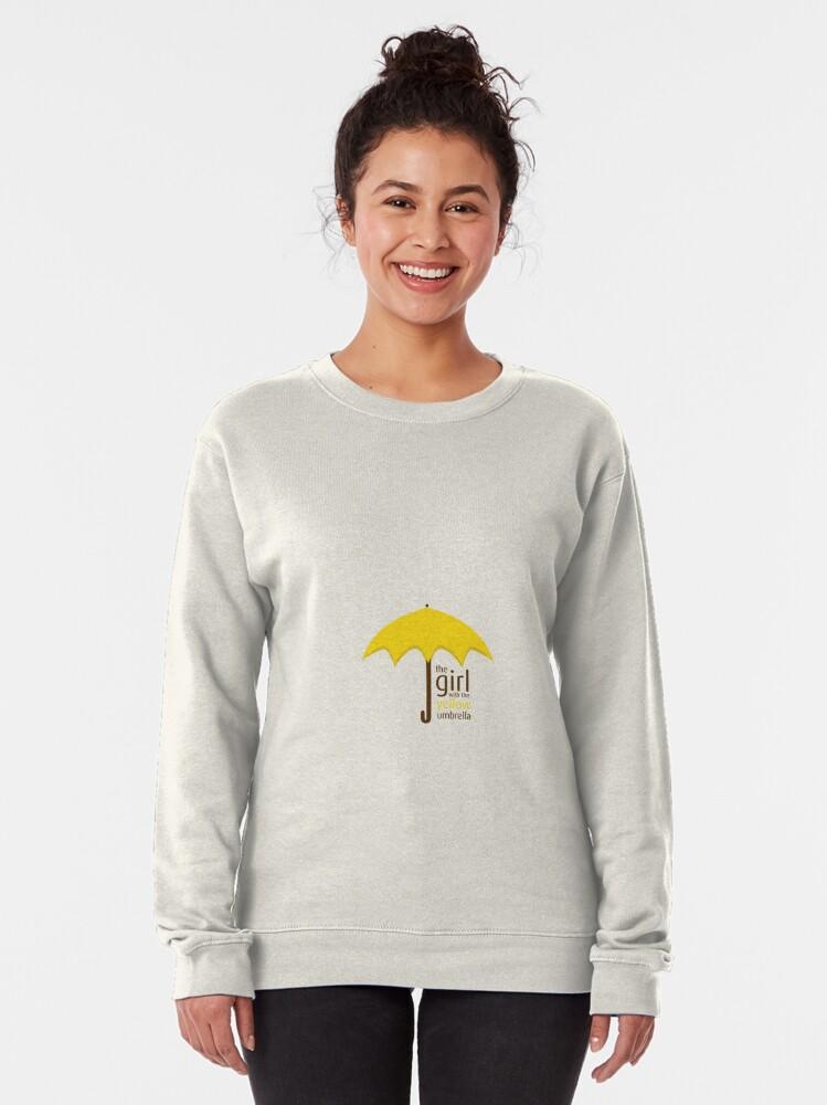 Alternate view of Yellow Umbrella Pullover Sweatshirt