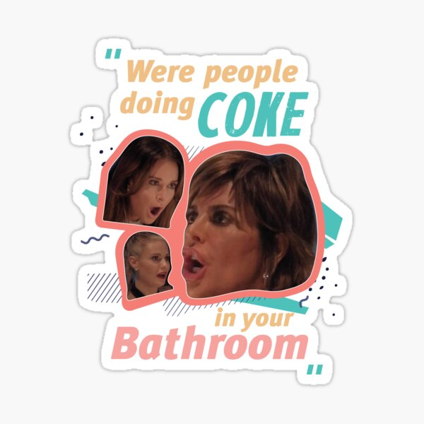 Real Housewives Lisa Sticker