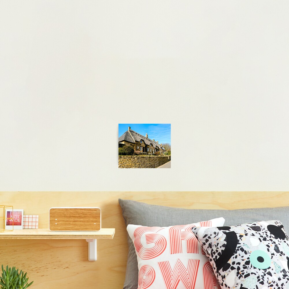 Cotswold Cottages Photographic Print