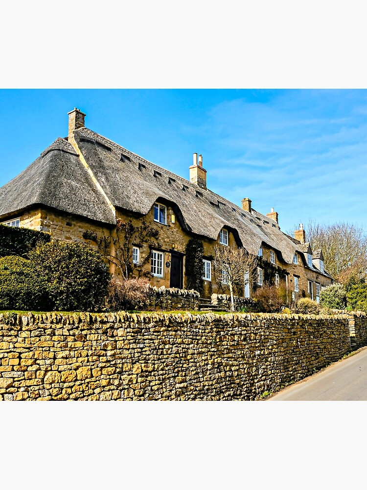 Cotswold Cottages by ScenicViewPics