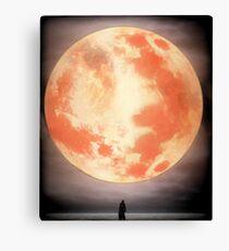 Bloodborne Moon Canvas Print