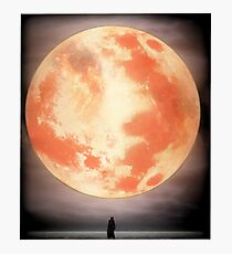 Bloodborne Moon Photographic Print