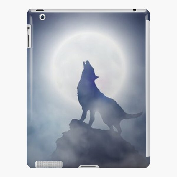 Howling Wolf iPad Snap Case