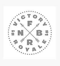 Fortnite Victory Royale Photographic Print