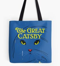 The Great Catsby Tote Bag