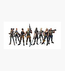 Fortnite Classes Artwork Photographic Print