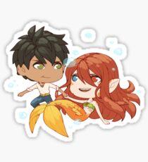 Elian & Lira Sticker