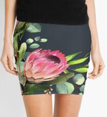 bush blue Mini Skirt