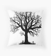 Tree! Throw Pillow