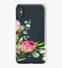 bush blue iPhone Case