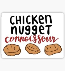 Chicken Nugget Connoisseur Sticker